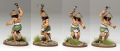 Peasant with farm implement, from the Bandit Buntai in North Star's range for Ronin. All done with A