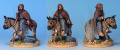 Peter the Hermit on donkey, Perry Miniatures Foundry paints.