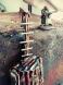 Postapocalyptic pc case build little progress addes the ladder