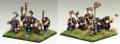 Copplestone 15mm Barbarica FM16 - 15mm Dwarf Command. Sculpted by Mark Copplestone.